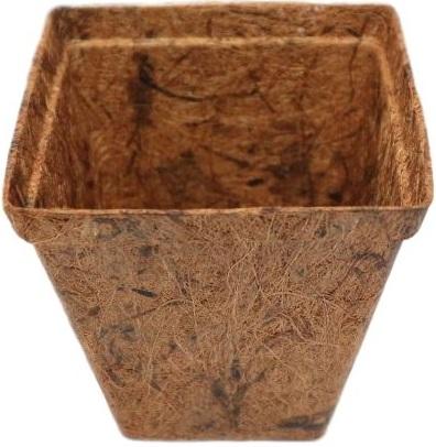 Fiber Plant Pots Squared