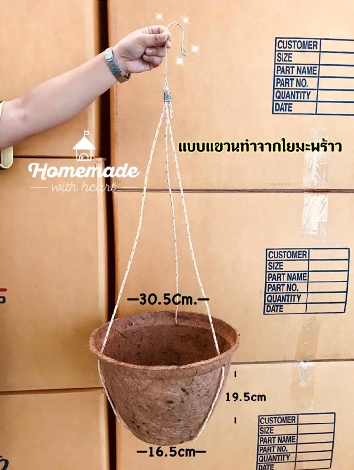 Large biodegradable pot