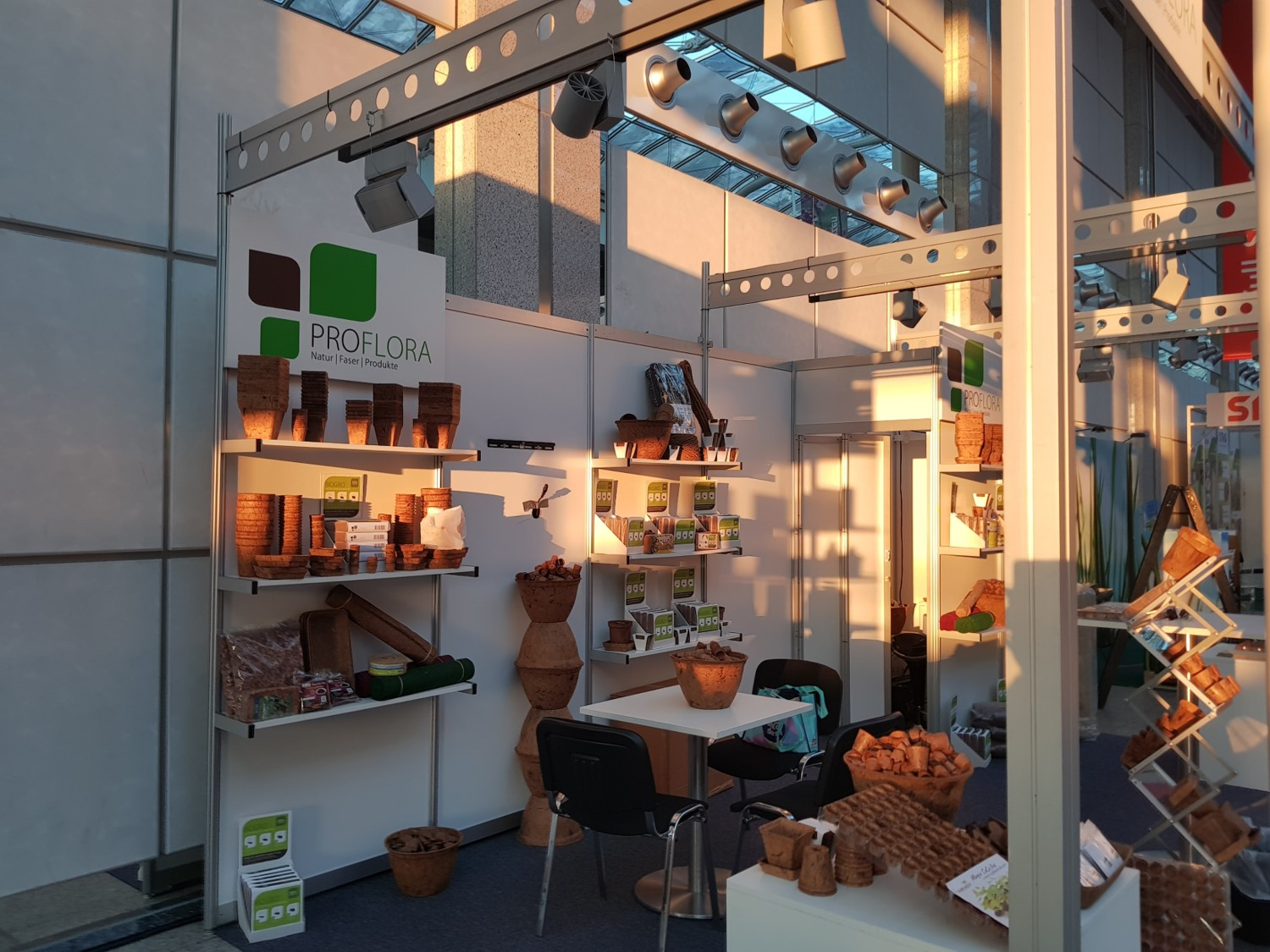 Biodegradable Pots Exhibition Germany 2018