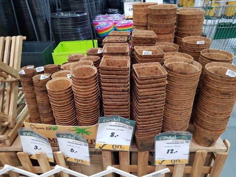 Kokosfaser töpfe (biologisch abbaubare blumentöpfe)