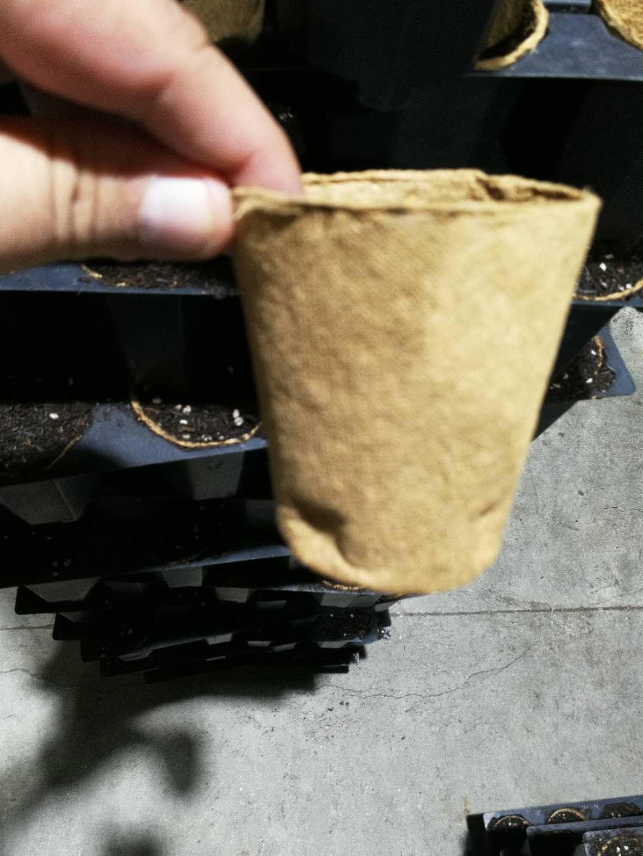 Hydroponics coco pots