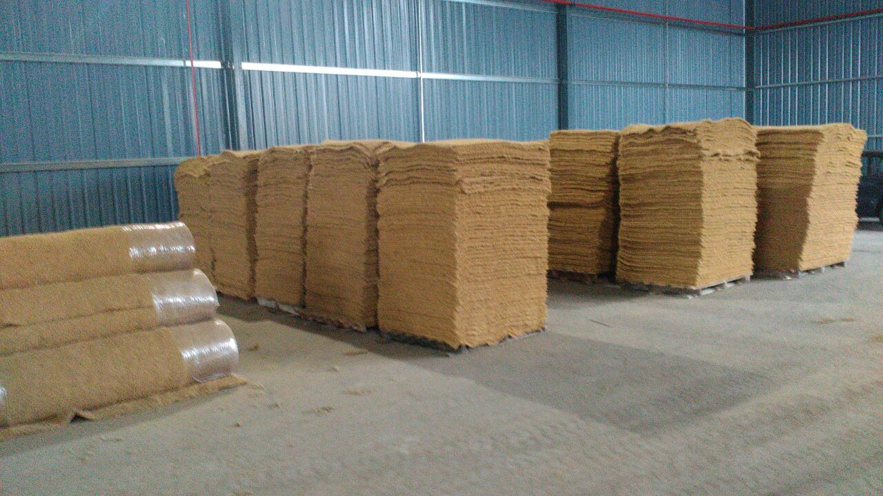 insulation coconut fibre