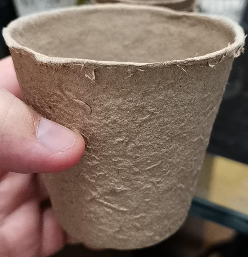 Paper pulp pot