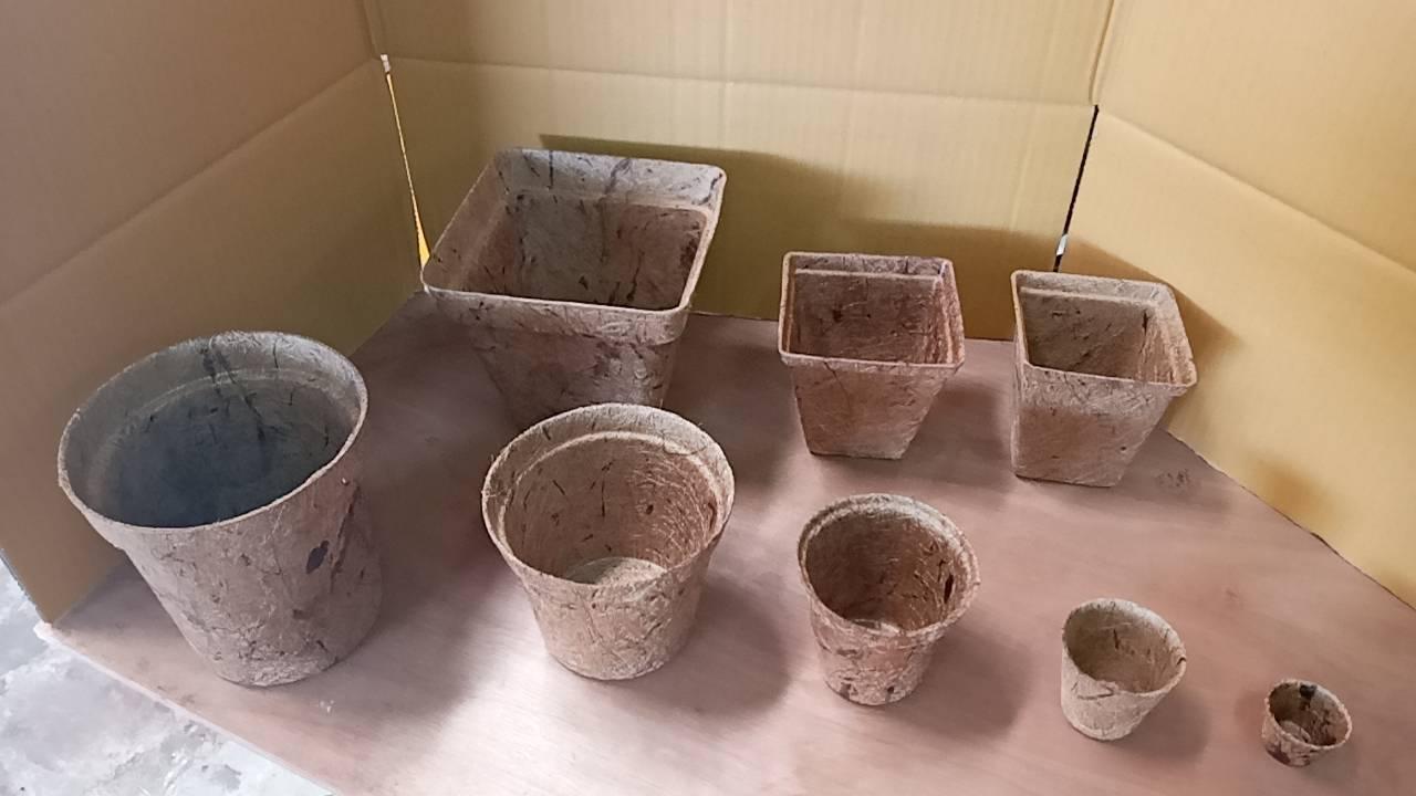 Coconut Pots or Coco Fiber Pots