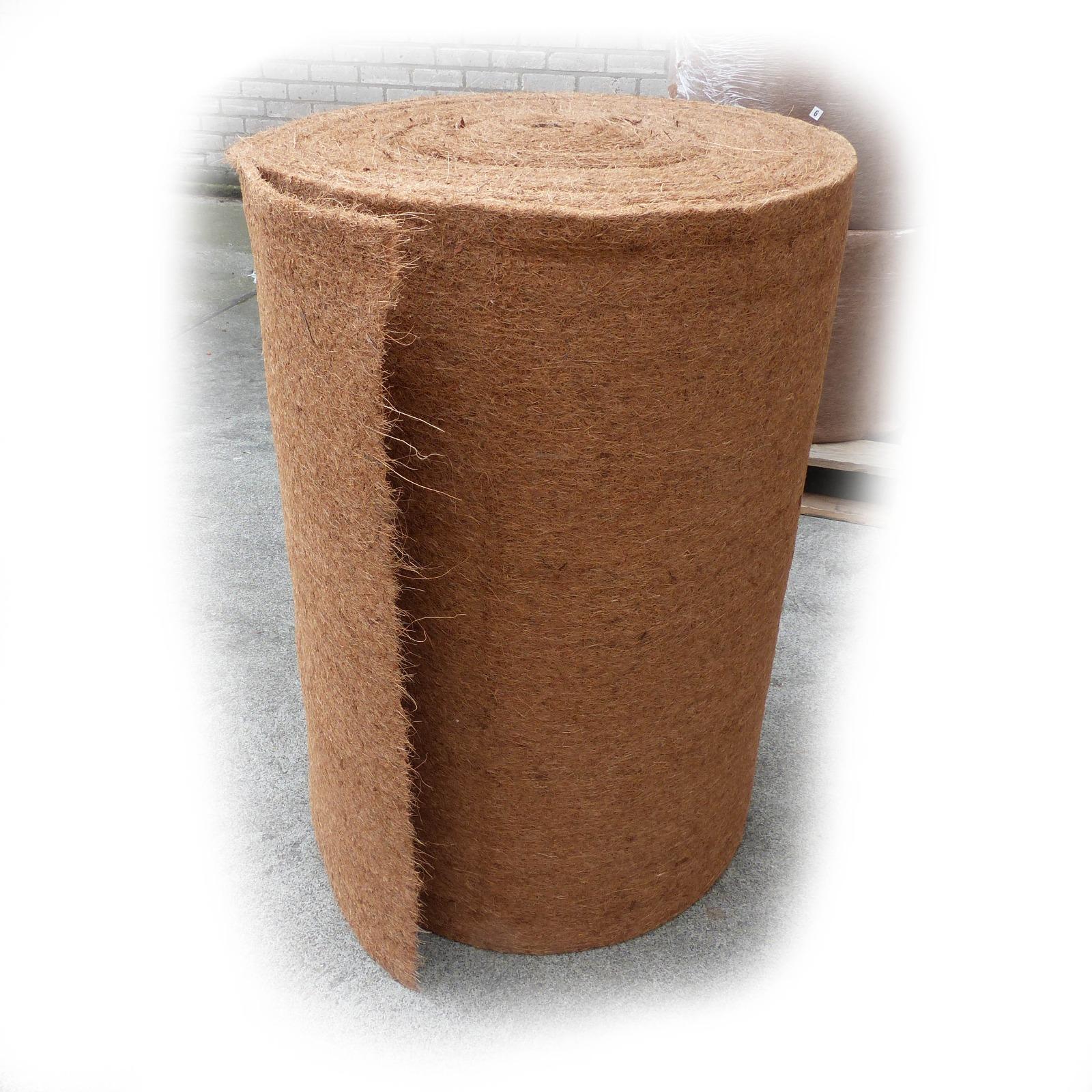 Kokosfaser rolle  Breite: 1 m. Länge: 25 m.