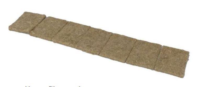 Coconut fiber pads (Organic Certified)