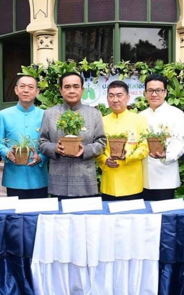 Green Thailand – Prayut Chan-o-cha – Coco Fiber Pot